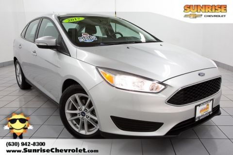 Pre-Owned 2017 Ford Focus SE FWD 4D Sedan