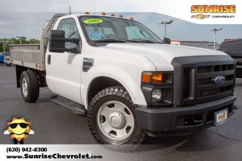 Pre-Owned 2008 Ford F-350SD XL RWD 2D Standard Cab