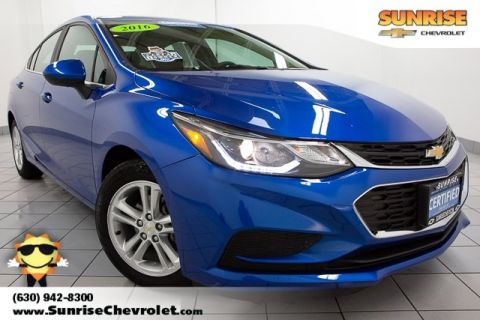 Certified Pre-Owned 2016 Chevrolet Cruze LT FWD 4D Sedan