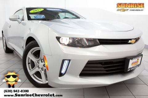 Certified Pre-Owned 2017 Chevrolet Camaro 1LT RWD 2D Coupe