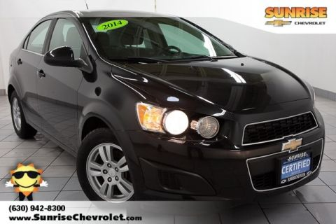 Certified Pre-Owned 2014 Chevrolet Sonic LT FWD 4D Sedan