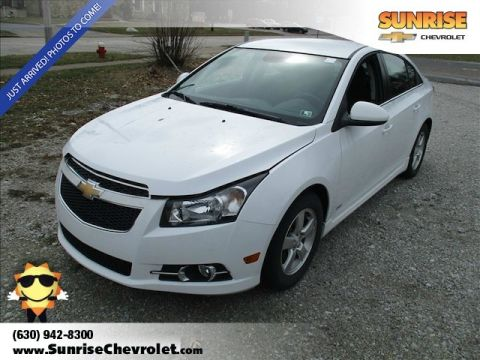 Certified Pre-Owned 2014 Chevrolet Cruze 1LT FWD 4D Sedan