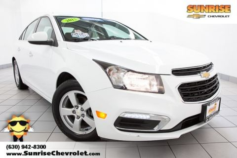 Certified Pre-Owned 2015 Chevrolet Cruze 1LT FWD 4D Sedan