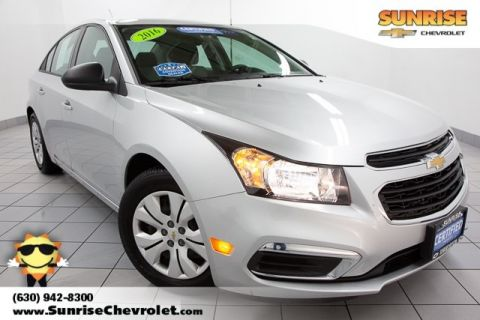 Certified Pre-Owned 2016 Chevrolet Cruze Limited LS FWD 4D Sedan