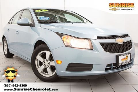 Pre-Owned 2012 Chevrolet Cruze 1LT FWD 4D Sedan