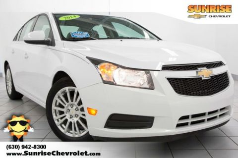 Certified Pre-Owned 2014 Chevrolet Cruze ECO FWD 4D Sedan