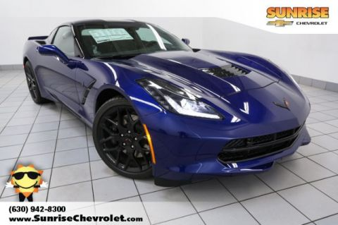 New 2018 Chevrolet Corvette Stingray Z51 RWD 2D Coupe