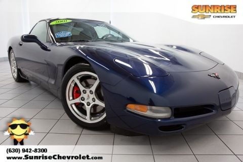 Pre-Owned 2001 Chevrolet Corvette Base RWD 2D Coupe