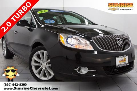 Certified Pre-Owned 2015 Buick Verano Premium Group FWD 4D Sedan