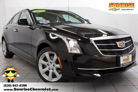 Pre-Owned 2015 Cadillac ATS 2.0L Turbo AWD