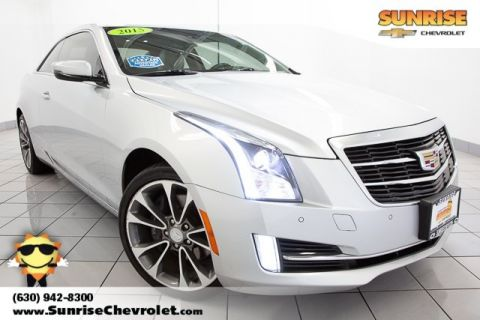 Pre-Owned 2015 Cadillac ATS 2.0L Turbo Luxury AWD