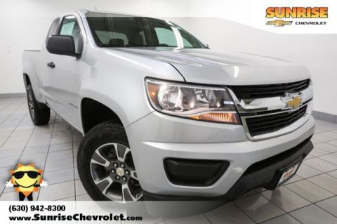 New 2017 Chevrolet Colorado Work Truck RWD 4D Extended Cab