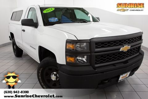 Certified Pre-Owned 2014 Chevrolet Silverado 1500 Work Truck 4WD