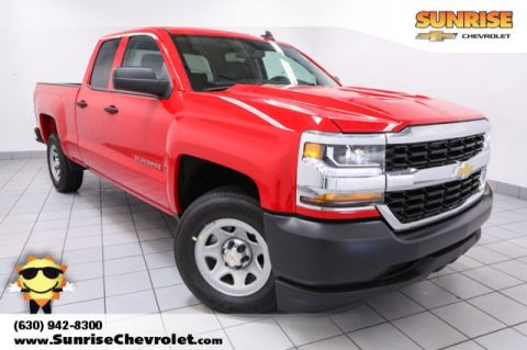 New 2018 Chevrolet Silverado 1500 WT RWD Double Cab
