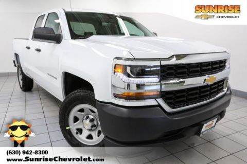 New 2017 Chevrolet Silverado 1500 WT RWD Double Cab