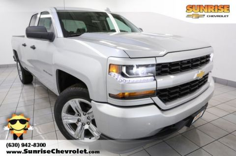 New 2017 Chevrolet Silverado 1500 Custom RWD Double Cab