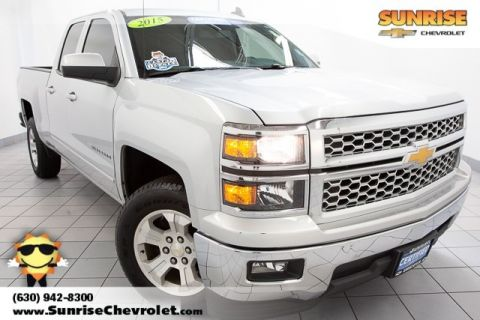 Certified Pre-Owned 2015 Chevrolet Silverado 1500 LT RWD 4D Double Cab