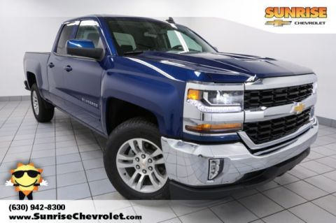 New 2018 Chevrolet Silverado 1500 LT RWD Double Cab