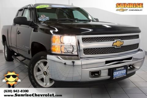 Certified Pre-Owned 2013 Chevrolet Silverado 1500 LT 4WD