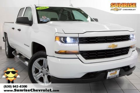Certified Pre-Owned 2016 Chevrolet Silverado 1500 Custom 4WD