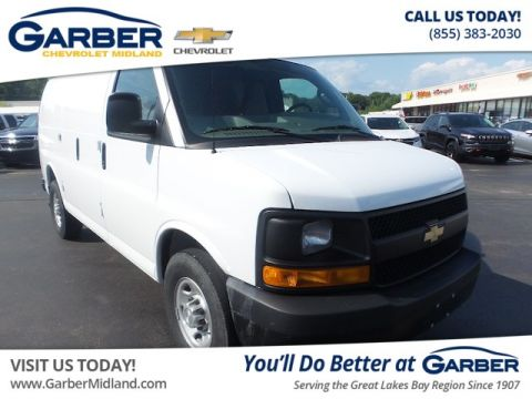 Pre-Owned 2016 Chevrolet Express 2500 Work Van RWD Cargo Van