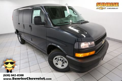 New 2018 Chevrolet Express 2500 Work Van RWD 3D Cargo Van