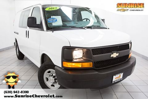 Pre-Owned 2015 Chevrolet Express 2500 Work Van RWD 3D Cargo Van