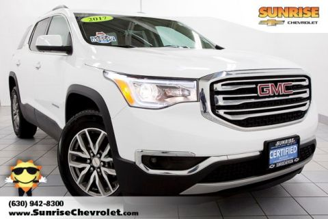 Certified Pre-Owned 2017 GMC Acadia SLE-2 FWD 4D Sport Utility