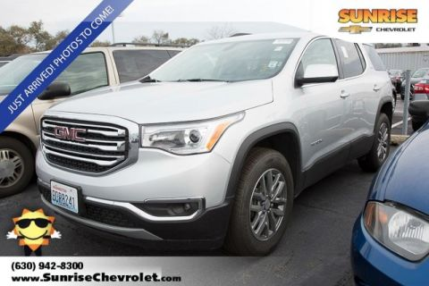 Certified Pre-Owned 2017 GMC Acadia SLE-2 AWD