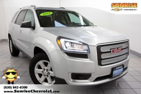 Certified Pre-Owned 2016 GMC Acadia SLE-2 FWD 4D Sport Utility