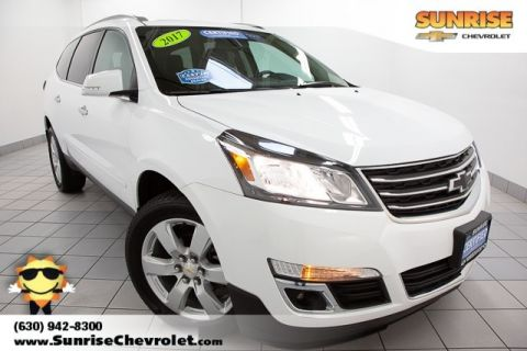 Certified Pre-Owned 2017 Chevrolet Traverse LT FWD 4D Sport Utility