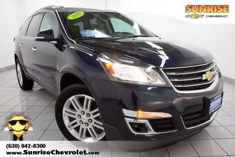 Certified Pre-Owned 2015 Chevrolet Traverse LT FWD 4D Sport Utility