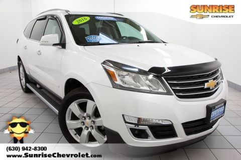Certified Pre-Owned 2016 Chevrolet Traverse LT FWD 4D Sport Utility