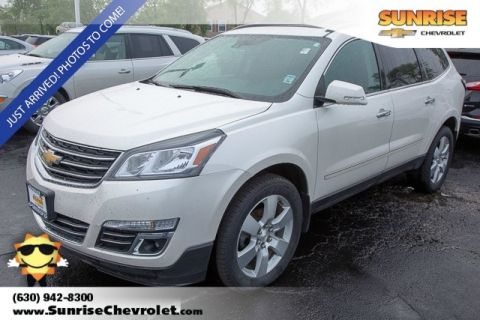 Certified Pre-Owned 2015 Chevrolet Traverse LTZ FWD 4D Sport Utility