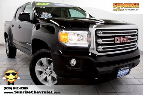 Certified Pre-Owned 2016 GMC Canyon SLE1 4WD