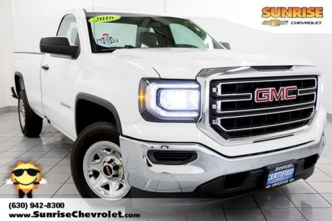 Certified Pre-Owned 2016 GMC Sierra 1500 Base RWD 2D Standard Cab
