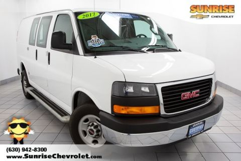 Certified Pre-Owned 2017 GMC Savana 2500 Work Van RWD 3D Cargo Van
