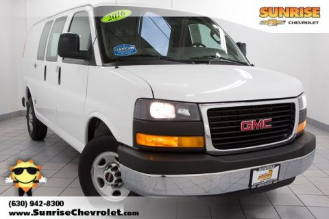 Certified Pre-Owned 2016 GMC Savana G2500 Work Van RWD 3D Cargo Van