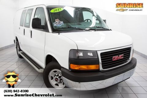 Pre-Owned 2017 GMC Savana 2500 Work Van RWD 3D Cargo Van