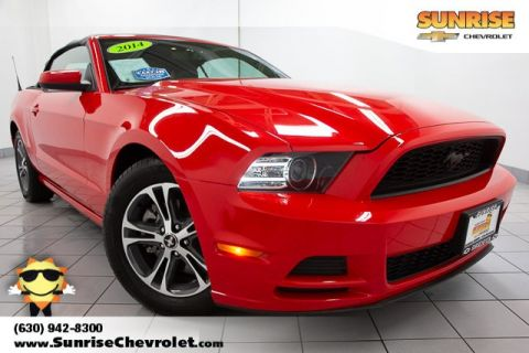 Pre-Owned 2014 Ford Mustang V6 RWD 2D Convertible