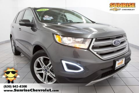 Pre-Owned 2017 Ford Edge Titanium FWD 4D Sport Utility