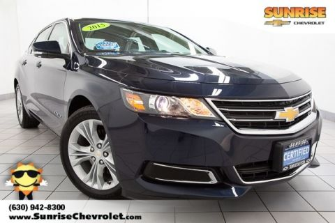 Certified Pre-Owned 2015 Chevrolet Impala LT FWD 4D Sedan