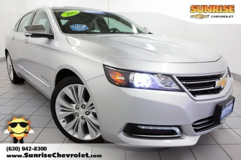 Certified Pre-Owned 2015 Chevrolet Impala LTZ FWD 4D Sedan