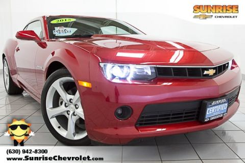 Certified Pre-Owned 2015 Chevrolet Camaro 2LT RWD 2D Coupe