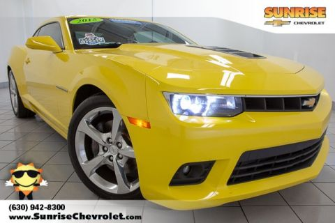 Certified Pre-Owned 2015 Chevrolet Camaro SS RWD 2D Coupe