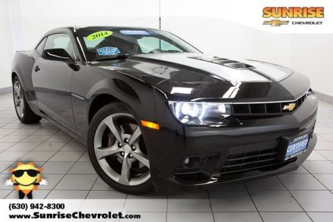 Certified Pre-Owned 2014 Chevrolet Camaro SS RWD 2D Coupe