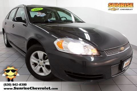 Pre-Owned 2012 Chevrolet Impala LS FWD 4D Sedan