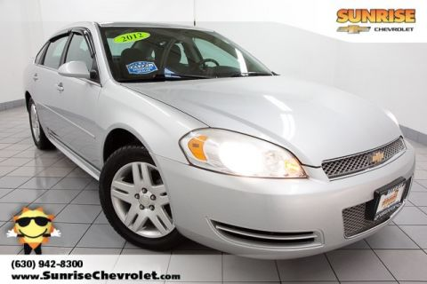 Pre-Owned 2012 Chevrolet Impala LT FWD 4D Sedan