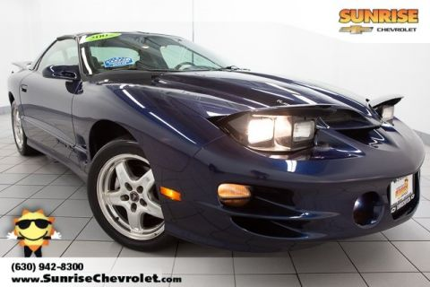 Pre-Owned 2002 Pontiac Firebird Trans Am RWD 2D Coupe