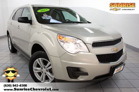 Pre-Owned 2015 Chevrolet Equinox LS FWD 4D Sport Utility